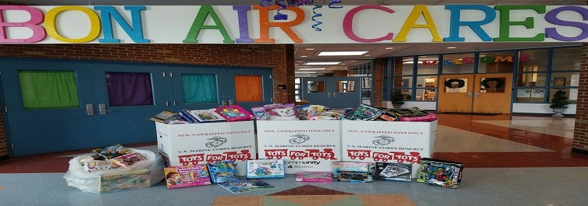 Bon Air Students Contribute to Toys for Tots